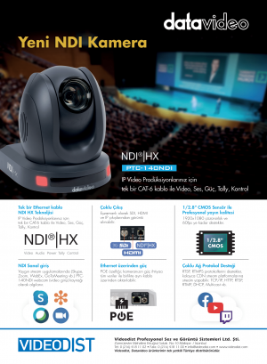 Yeni NDI Kamera